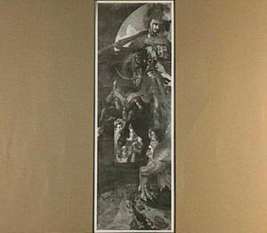 De H. Joris verslaat de draak en bevrijdt de prinses van Silena (Altaar van de Oude Voetboog)