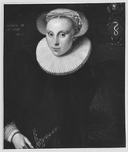 Portret van Baertje van Adrichem  (1575-1601)