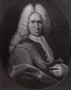 Portret van Johannes Mathaeus van Hamel (1692-1758)