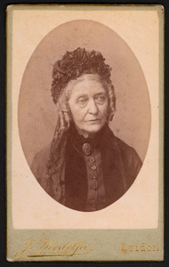 Portret van Constance Justine Charlotte de Casembroot (1815-1893)