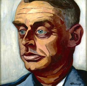 Portret van Albert Plasschaert (1866-1942)