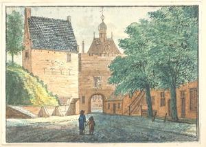 Nijmegen, de Hezelpoort van de stadszijde