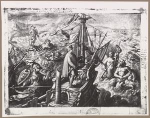 Amerigo Vespucci ontdekt Amerika