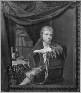 Portret van Nicolaas Verkolje