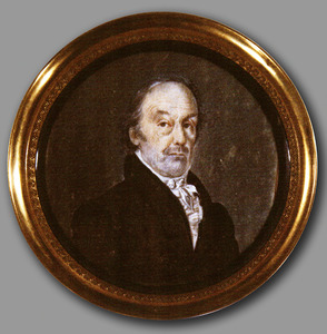 Portret van Gerrit Hendrik Groen (1762-1835)