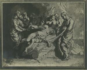 Nero aanschouwt de dode Agrippina