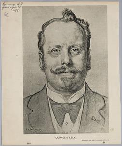 Portret van Cornelis Lely