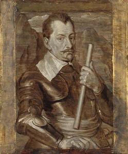 Portret van Albrecht Wenzel Eusebius von Wallenstein, hertog van Friedland (1583-1634)