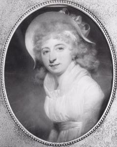 Portret van Catharina Spanjaard (1767-1851)