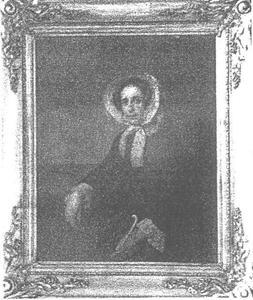 Portret van Judith Oortman (1807-1886)