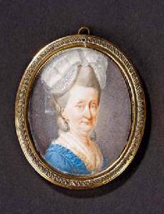 Portret van Cornelia Balthasarina Hasselaer (1725-1806)