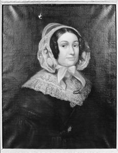 Portret van Maria Gertrudis Frissen ( -1856)