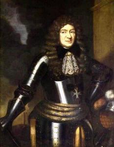 Portret van een man, mogelijk postuum portret van Georg Friedrich von Waldeck (1620-1692)