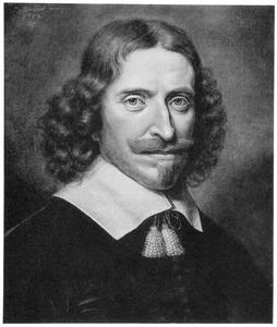 Portret van Abraham Alewijn (1607-1679)