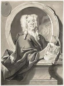 Portret van Jacob Campo Weyerman (1677?-1747)