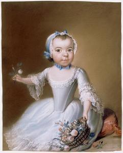 Portret van een kind, mogelijk Clasina Dorothea Jacoba van Boetzelaer (1762-1819)