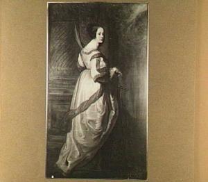 Portret van de H. Cartharina van Alexandrië (?-307)