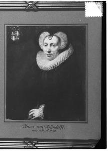 Portret van Anna van Assendelft (1547-1630)