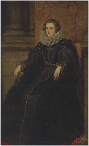 Portret van Polissena Spinola, Marchesa de Leganes (?-1639), echtenote Diego Mexía Felipez de Guzmán y Dávila, 1st Marqués de Leganés