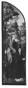 De H. Catharina met stichtster