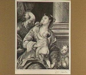 H. Familie en Johannes de Doper als kind