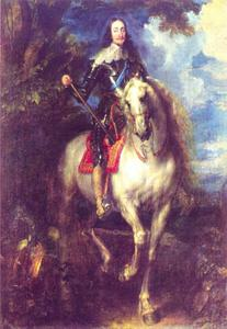 Ruiterportret van Karel I van Engeland (1600-1649)
