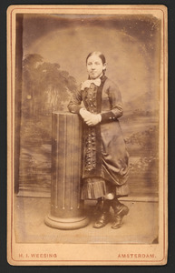 Portret van Johanna Dunnewold (1868-1951)