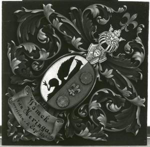 Rouwbord van Womck van Heringa