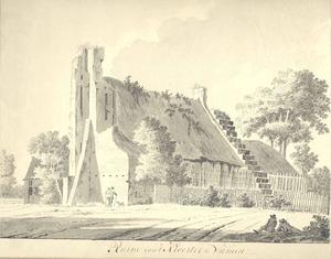 Ruïne van het klooster Clarecamp in Wamel