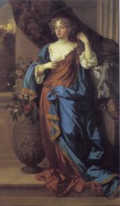 Portret van Jane Bickerton, hertogin van Norfolk (?-1693)