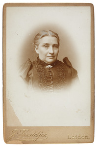 Portret van Margaretha Angelique Johanna Horstmann (1835-1910)