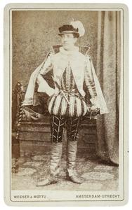 Portret van Jacob Albert Philips Leonard Ram (1860-1940) als Heer van Muyssaert