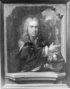 Portret van Francois Gallis (1692-1727)