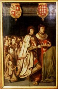 Portret van Johan van Luxemburg (?-1509) en Antoine de Lalaing graaf van Hoochstraten (1480-1540)