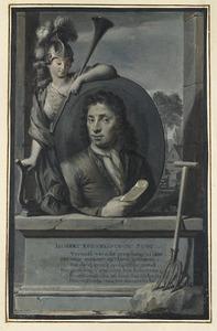 Portret van de dichter Hubert Corneliszoon Poot (1689-1733)
