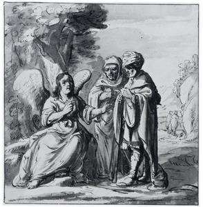 De engel verschijnt aan Manoah en zijn vrouw (Richteren 13)