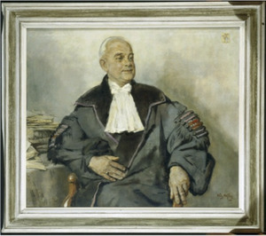 Portret van G.L. (Gerard Leonard) Smit Sibinga (1895-1963)
