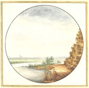 Rivierlandschap in de omgeving van Nijmegen