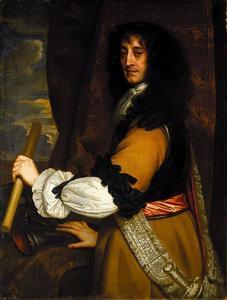 Portret van prins Rupert van de Palts als opperbevelhebber van de Engelse marine