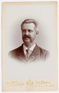 Portret van Anthonie Thomas Lubertus Mulder Rouwenhorst (1848-1901)