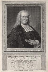 Portret van Johannes Oosterdijk Schacht (1704-1792)