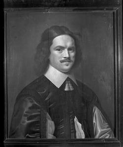 Portret van een man, waarschijnlijk Henri Godin (1615-..)