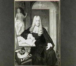 Portret van Jacob Adriaan Cunaeus (1664-1727)