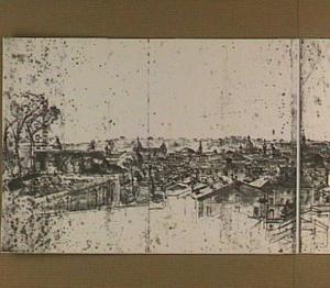 Rome, panorama vanuit de tuinen van het Quirinaal