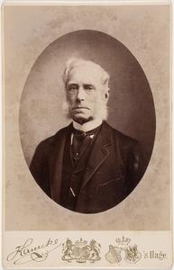 Portret van Willem Rene baron van Tuyll van Serooskerken (1813-1888)