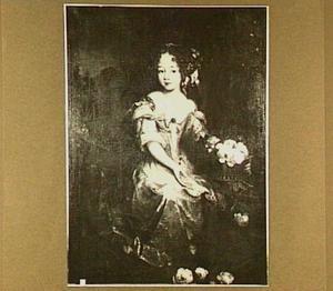 Portret van een meisje, wellicht een lid van het geslacht Anhalt-Dessau