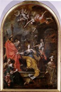 Het martelaarsschap van de heilige Catharina van Alexandria