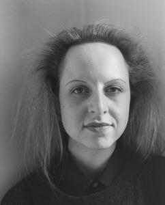 Portret van Erzsébeth Baerveldt