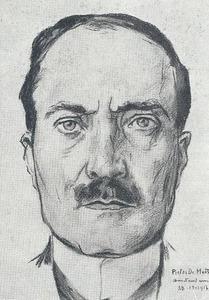 Portret van Michel van Campen (1874-1942)