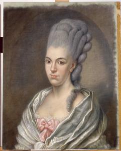 Portret van Anna Louisa van Pabst (1752-1820)